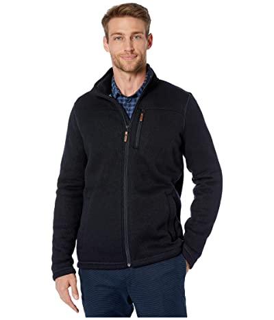 Smartwool Hudson Trail Fleece Full Zip Jacket (Navy) Men