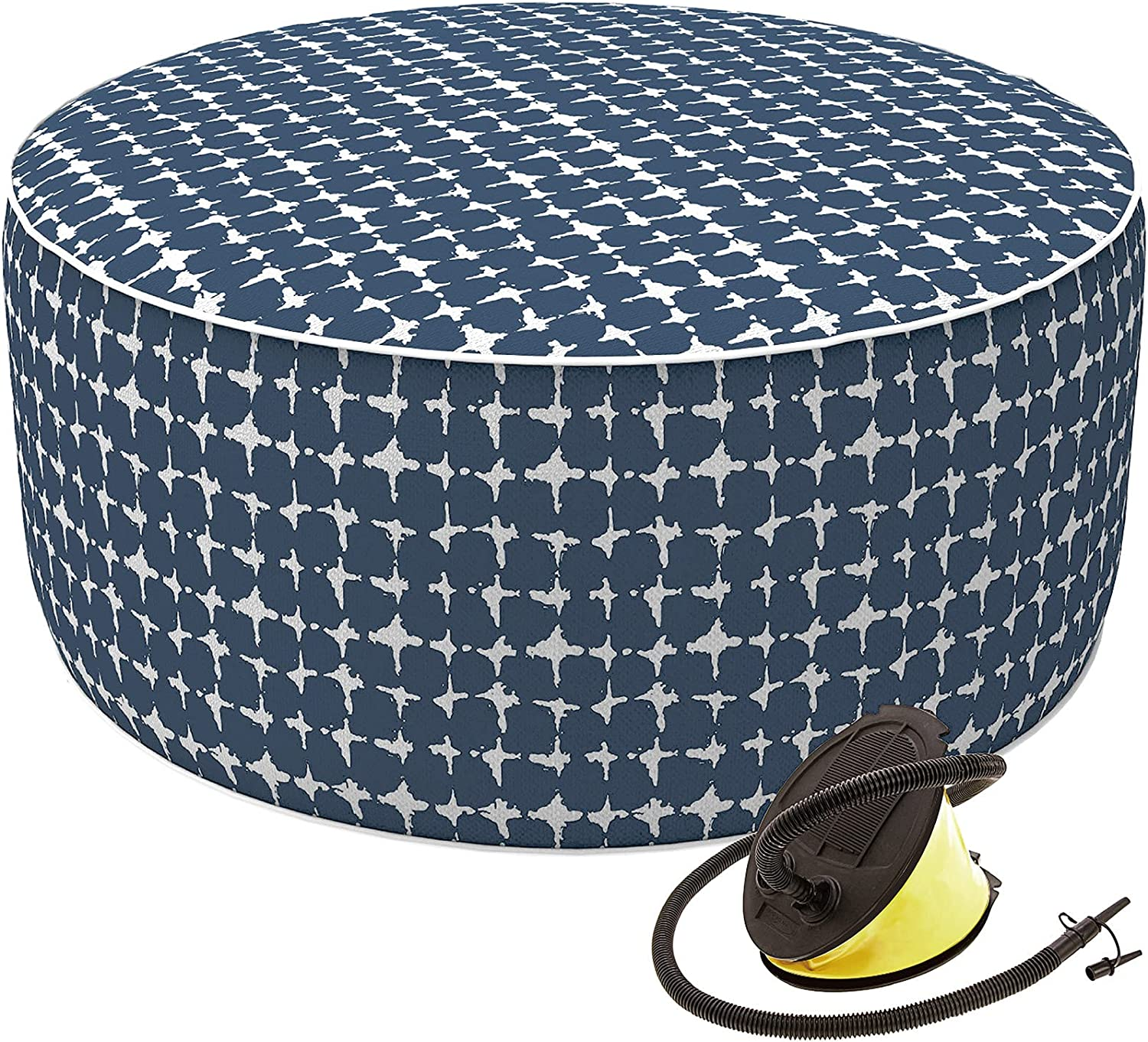 Rare LVTXIII Outdoor Indoor All items free shipping Inflatable Ottoman Weather Patio All Foo
