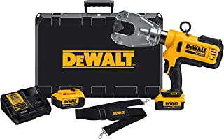 DEWALT DCE350M2R 20V Lithium-Ion Cordless Dieless Cable Crimping Tool Kit (Renewed)