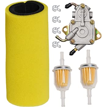 [DIAGRAM_1JK]  Amazon.com: HIFROM Dual Stage Foam Air Filter with Fuel Filter Fuel Pump  Tune Up Kit for Yamaha 2004-2007 Rhino 660 YXR660,2007-2009 Rhino 450  YXR450 Replace 5UG-E4451-00-00, 5UG-13910-01-0: Automotive | 2004 Rhino Fuel Filter |  | Amazon.com