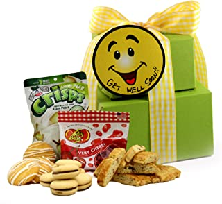 SMALL - Gluten Free Palace Smiles and Cheer! Get Well Gluten Free Gift Tower