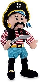 Fiesta Crafts Stripes Pirate Hand Puppet