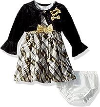 Nannette Baby Girls' Sleeveless Dress with Shrug