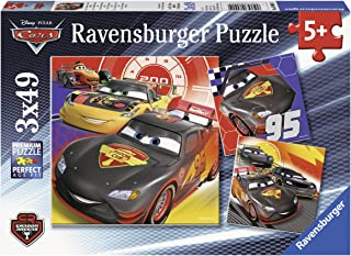 Ravensburger Cars - Adventure on The Street Jigsaw Puzzle (3x49 Piece)