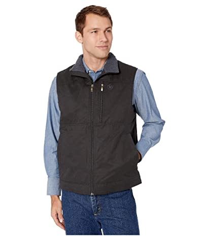 Ariat Grizzly Canvas Vest (Black) Men