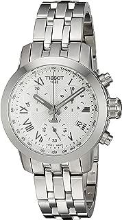 Women's Swiss Quartz Stainless Steel Quartz Watch, Color:Silver-Toned (Model: T0552171103300)