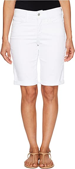 Petite Briella Shorts in Optic White