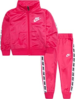 Baby Girls' Tricot Track Suit 2-Piece Outfit Set