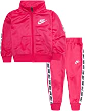 Nike Baby Girls' Tricot Track Suit 2-Piece Outfit Set