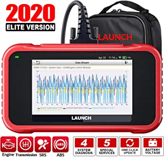 LAUNCH OBD2 Scanner -CRP129E Scan Tool for Eng ABS SRS TCM Code Reader, Oil/EPB/TPMS/SAS/Throttle Body Reset Car Diagnosti...
