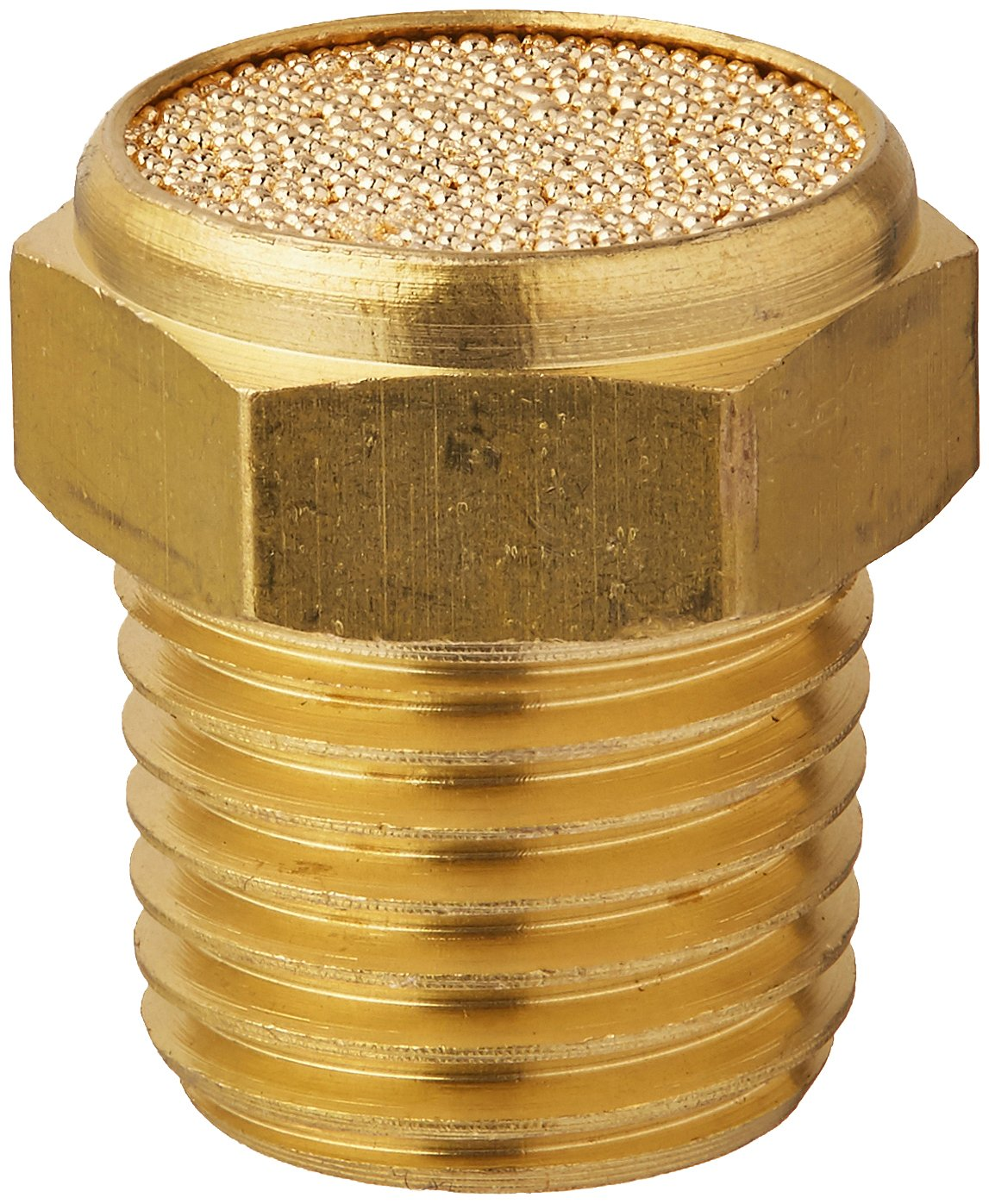 Manufacturer direct delivery MettleAir BBV-N02 Flat Pneumatic Bronze Muffler Sintered Filter 40% OFF Cheap Sale
