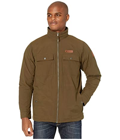 Columbia Wheeler Lodge Casual Jacket (Olive Green) Men