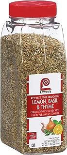 Lawry's Lemon, Basil & Thyme Key West Style Seasoning, 20 oz
