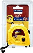 Tramontina 43156303, Trena com Fita de Aço Capacidade 3M, Amarelo