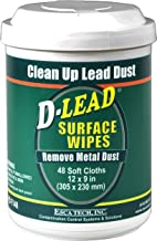 D-Lead Surface Wipes for Lead Paint Dust Cleanup, 48 ct.