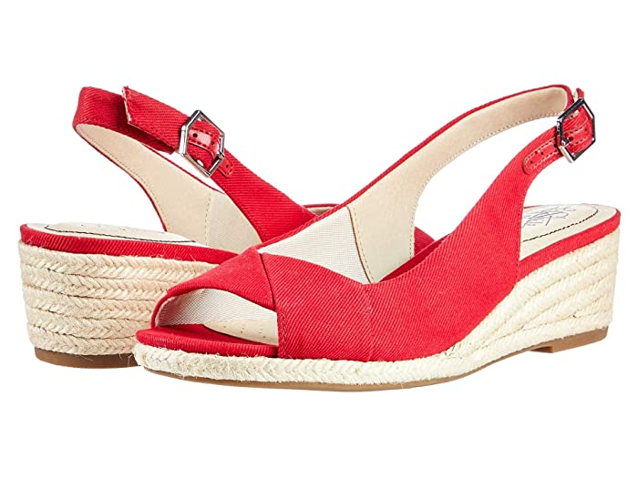1940s Style Shoes, 40s Shoes LifeStride Socialite Fire Red Womens Shoes $69.94 AT vintagedancer.com