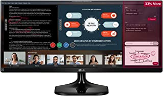 LG 25UM58-P 25-Inch 21:9 UltraWide FHD IPS Monitor [Versión/Enchufe UK]