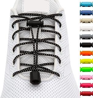 BENMAX SPORTS Schnürsenkel ohne Binden - Elastische Gummi Schuhbänder, Elastisch Schnellverschluss Elastic Shoelaces, Kind...