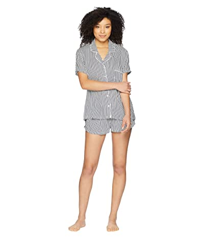 Splendid Woven PJ Set (Vertical Heavenly Stripe) Women