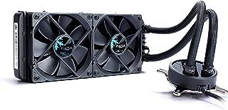 Fractal Design Celsius S24 Blackout 一体型水冷CPUクーラー120mm ファン x 2基 HS1320 FD-WCU-CELSIUS-S24-BKO