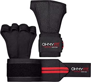 """All in one Wrist Wrap Glove: Ventilation, Prevent calluses and blisters, Full wrist support 22\"""" L x 3\"""" W. Perfect for Po..."""