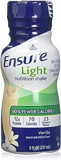 Ensure Light Nutrition Shake Vanilla - 6 CT