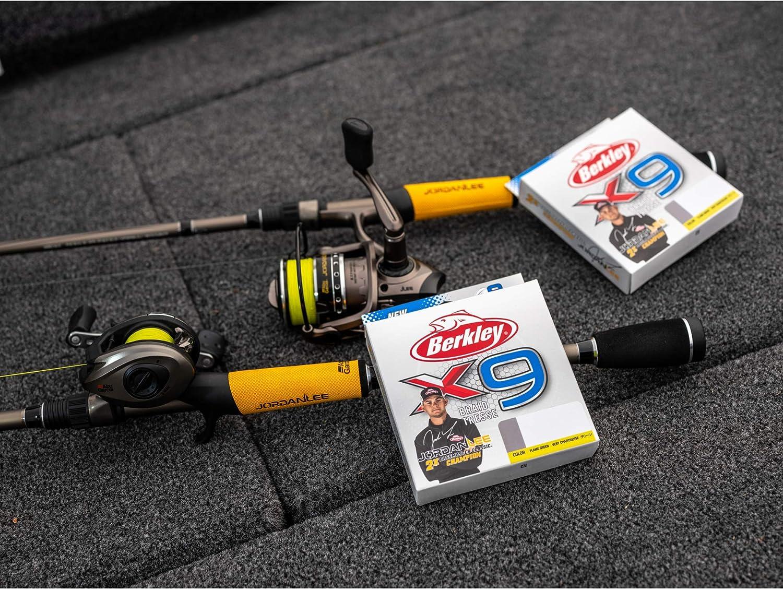 All Sizes Berkley New X9 Braid 100/% PE Smooth Casting Saltwater Fishing Line