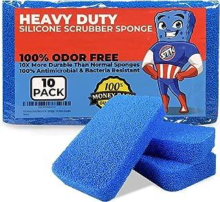 stk heavy duty silicone scrubber sponges