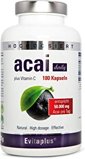 Acai DAILY Acai Berry 50.000 mg, 180 capsule, ahora con la m