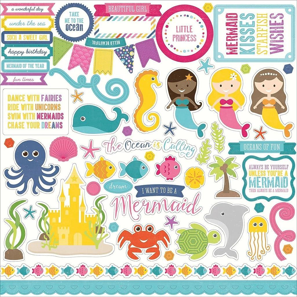 Let'S Be Mermaids Cardstock Stickers 12