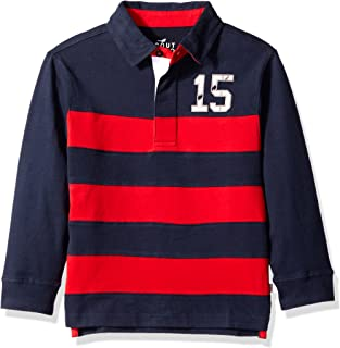Scout + Ro Boys' Long-Sleeve Stripe Rugby Shirt