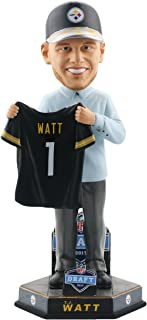 Forever Collectibles T.J. Watt Pittsburgh Steelers 2017 NFL Draft Day Bobblehead NFL