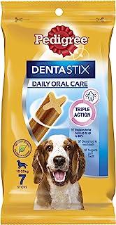 Pedigree Dentastix, Medium Dog Dental Treats, Adult, 56 Count
