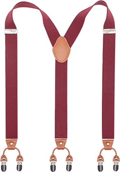 Burgundy Navy and Light Blue Black and Mustard Yellow Quality Mens Trouser Braces Suspenders Argyle Diamond X Shape 35mm Wide With 4 Strong Silver Colour Clips