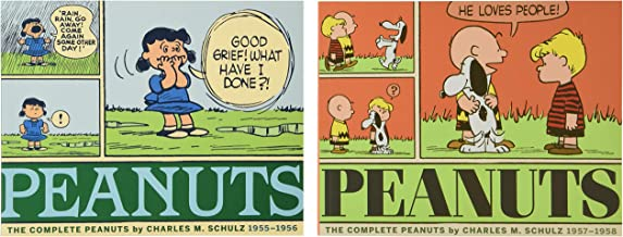 The Complete Peanuts 1955-1958: Vols. 3 & 4 Gift Box Set - Paperback: 0