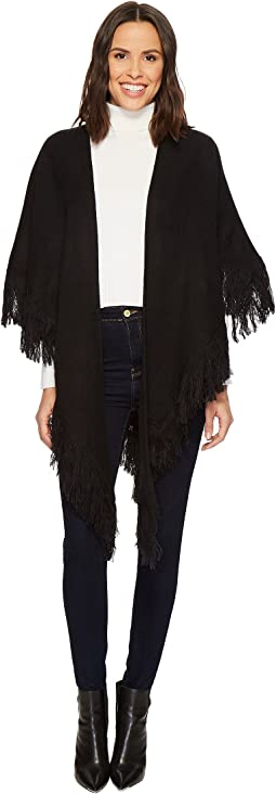 Collection XIIX - Solid Fringed Kite Ruana