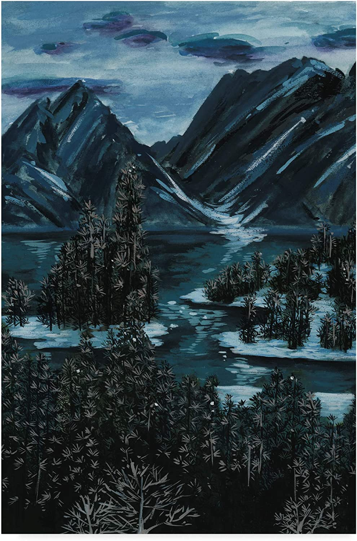Trademark Fine Art Mountainscape II by Melissa Wang, 12x19