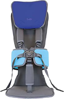 Firefly by Leckey GoTo Postural Support Seat - Lightweight Portable Supportive Seat for Children with Special Needs – Advanced Headrest - Blue, Size 2