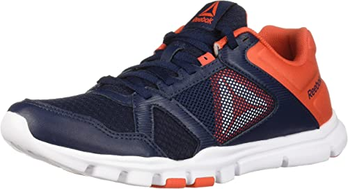 Reebok Hommes's Yourflex Train 10 Cross Trainer, Collegiate Navy voitureougeene, 12.5 M US