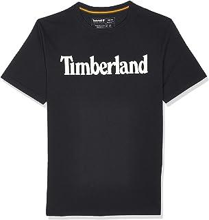 Timberland Men's TFO Linear Logo Nonringer T-Shirt