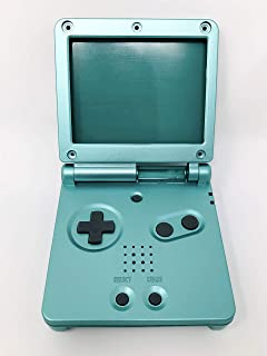 RGRS Replacement Pearl Green Full Housing Shell Case Repair Parts Kit w/Lens & Screwdriver for Nintendo Gameboy Advance SP...