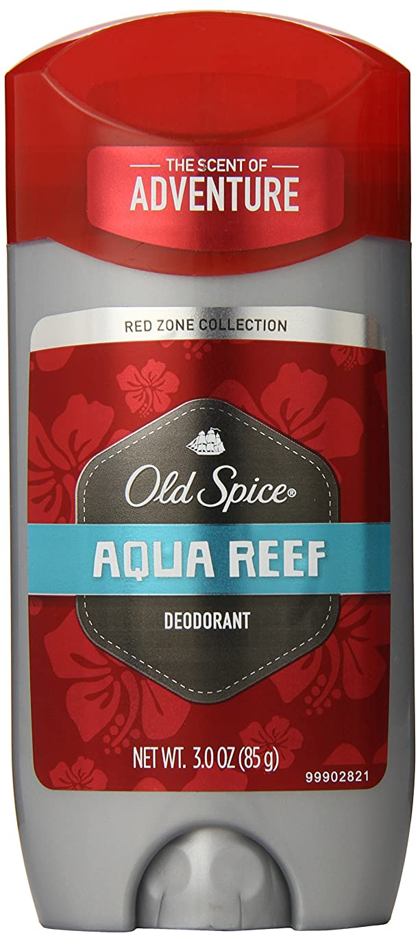 成人期協会繊維【Old Spice】オールドスパイス RED ZONE デオドラント(アクアリーフ)85g (New Look)並行輸入