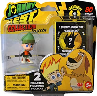 Caillou Johnny Test Collectible Figurine (2 Pack), Styles May Vary
