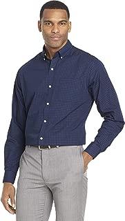 Men's Wrinkle Free Poplin Long Sleeve Button Down Shirt