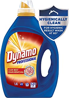 Dynamo Professional Oxi Plus is our Best Stain Removal Liquid Laundry Detergent, 1.8 Litres, 36 washloads