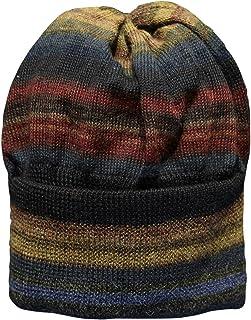 Invisible World Women's 100% Alpaca Wool Hat Knit Unisex Beanie Chiminea