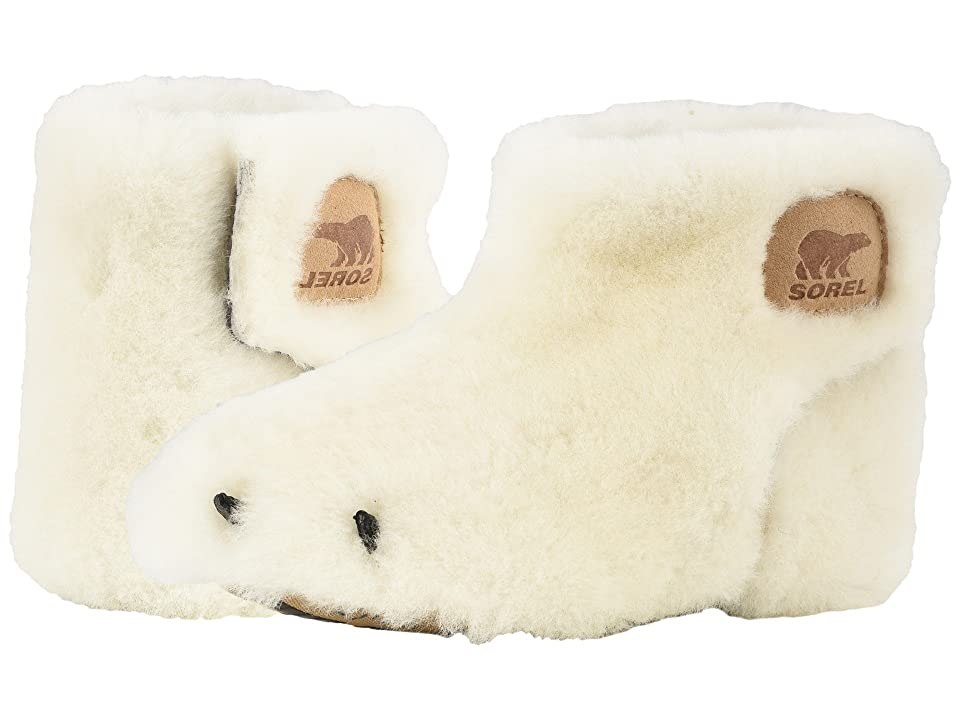 SOREL Kids Bear Paw Slipper (Toddler/Little Kid) (Sea Salt/Beach) Kids Shoes
