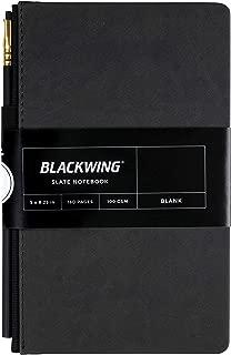 Blackwing Slate Journal, Black Hardcover Notebook (160 Pg.) - Blank