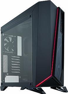 Corsair SPEC-OMEGA Tempered Glass -Black- ミドルタワー型PCケース [強化ガラスモデル] CS7117 CC-9011121-WW