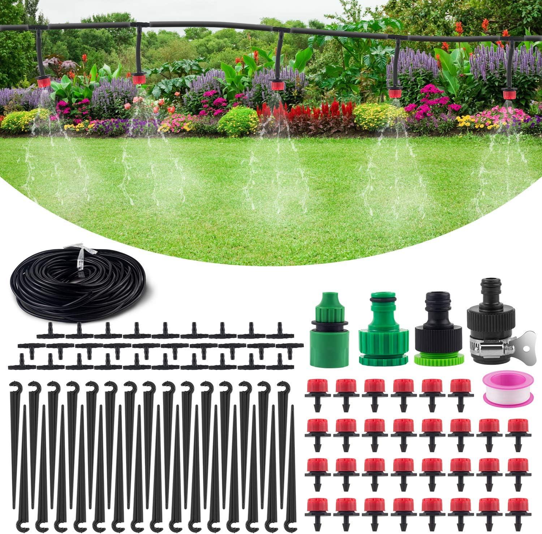Wholesale Max 76% OFF MSDADA 82ft Drip Irrigation Garden Kits Accessories